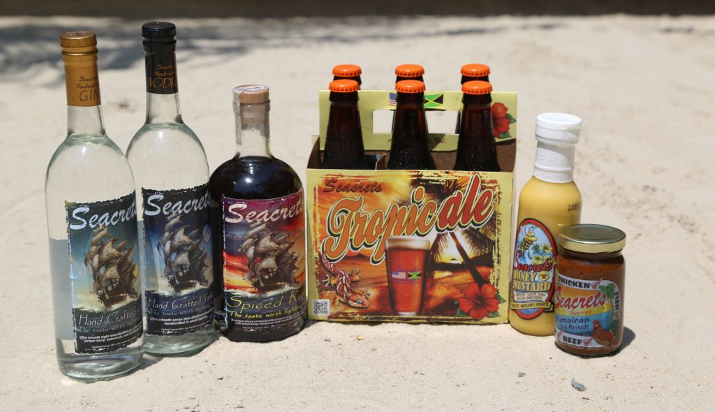 Seacrets Trading Co Products such as Seacrets Spirits, Tropicale, and more.