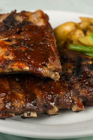 Dinner Special: 1/2 Price Ribs