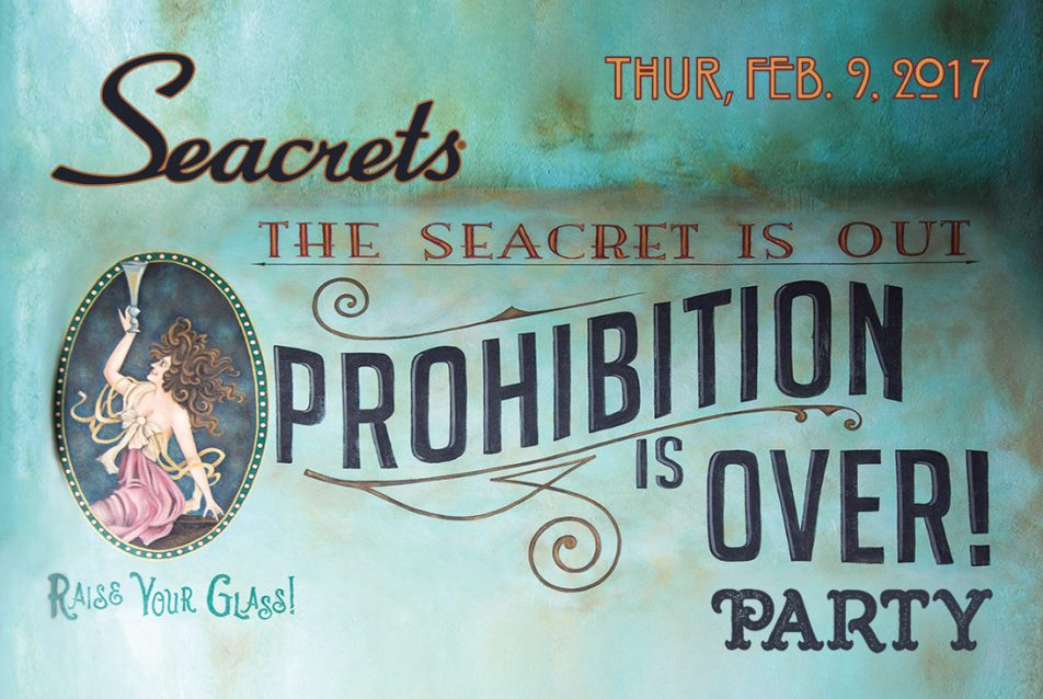 Reopening Party: Prohibition is Over!