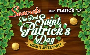 "St. Patrick's Day Local's ""After Party"""