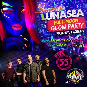 LUNASEA Full Moon Glow Party!