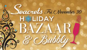 Holiday Bazaar & Bubbly