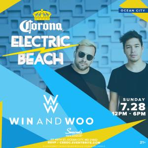 Corona Electric Beach w/ Win and Woo