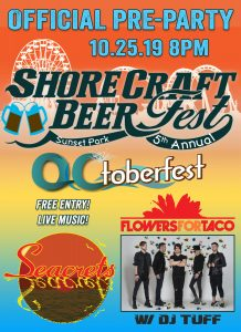 Official Pre-Party of the 5th Annual Beer  Shore Craft Beer Fest