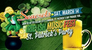 Irie-ish Music Fest: St. Patrick's Day Party