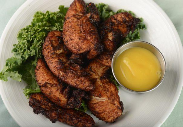 1/2 Price Jerk Chicken & Steamed Shrimp