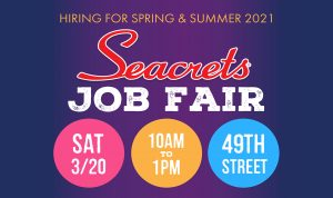 Seacrets Job Fair